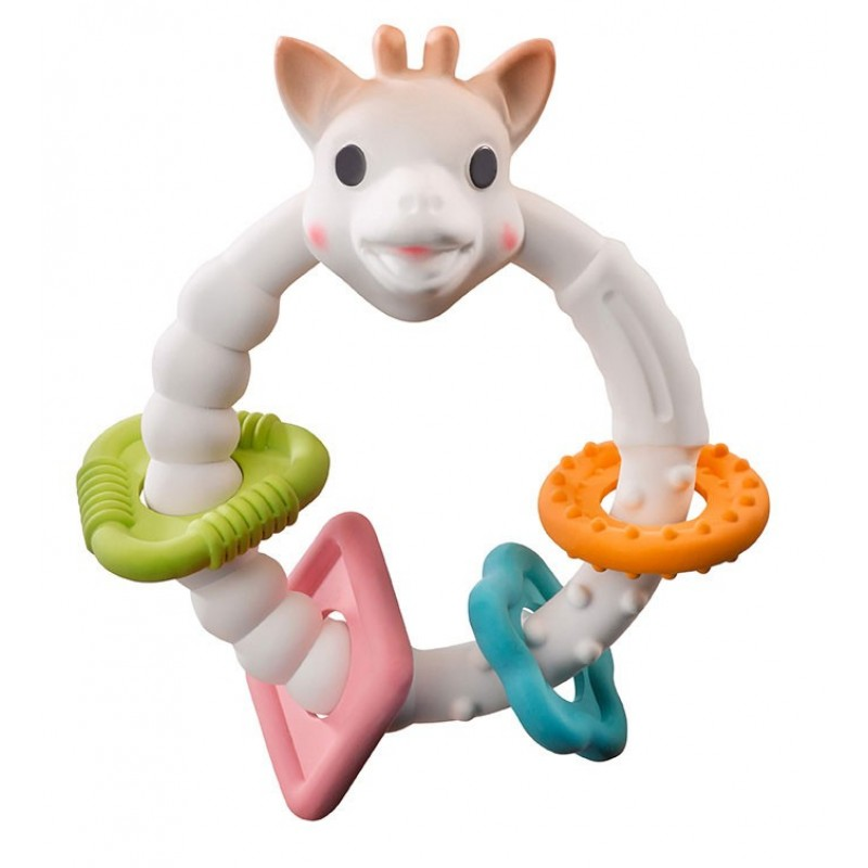 Vulli - Anneau de dentition Sophie La Girafe So'Pure Colo'rings