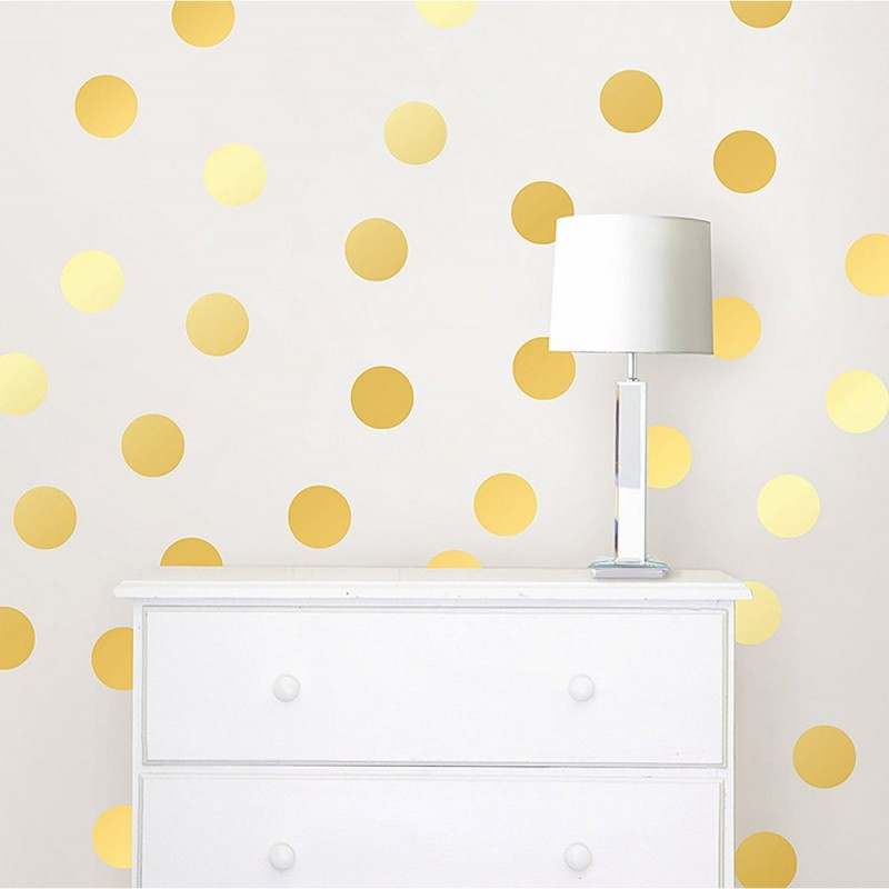 Wall Pops - Wall Decals Metallic Dots