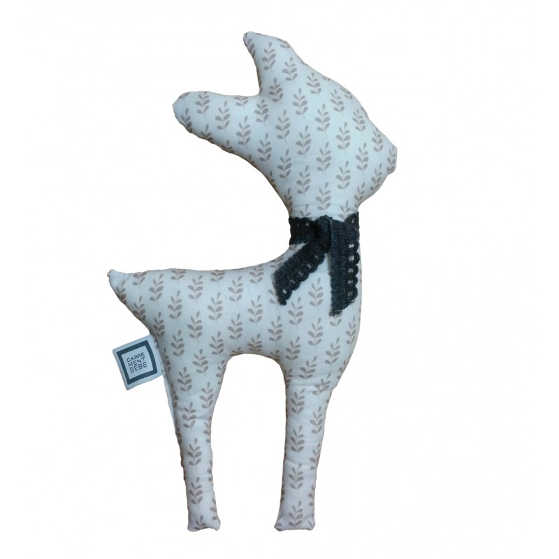 Carrément Bébé - Alice - Decorative Cushion - Fawn