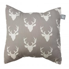 Carrément Bébé - A Walk in the Woods - Decorative Cushion - Square Deer Head