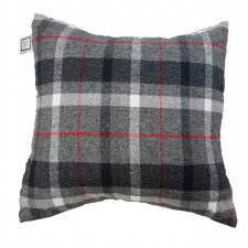 Carrément Bébé - Chalet Style - Decorative Cushion - Square Grey