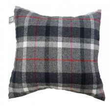 Carrément Bébé - Chalet Style - Decorative Cushion - Square Grey