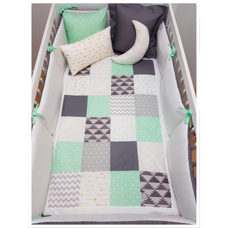 Carrément Bébé - Charlie - 5 Pieces Bedding Set