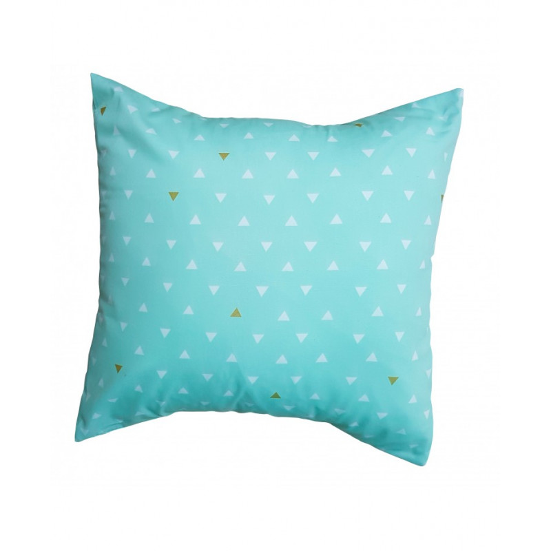 Carrément Bébé - Charlie - Decorative Cushion - Square Green