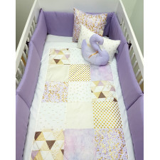 Carrément Bébé - Charlotte -  5 Pieces Bedding Set
