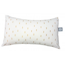 Carrément Bébé - Charlotte - Decorative Cushion - Rectangle White & Gold