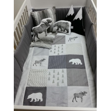 Carrément Bébé - Boreal Forest - 5 Pieces Bedding Set