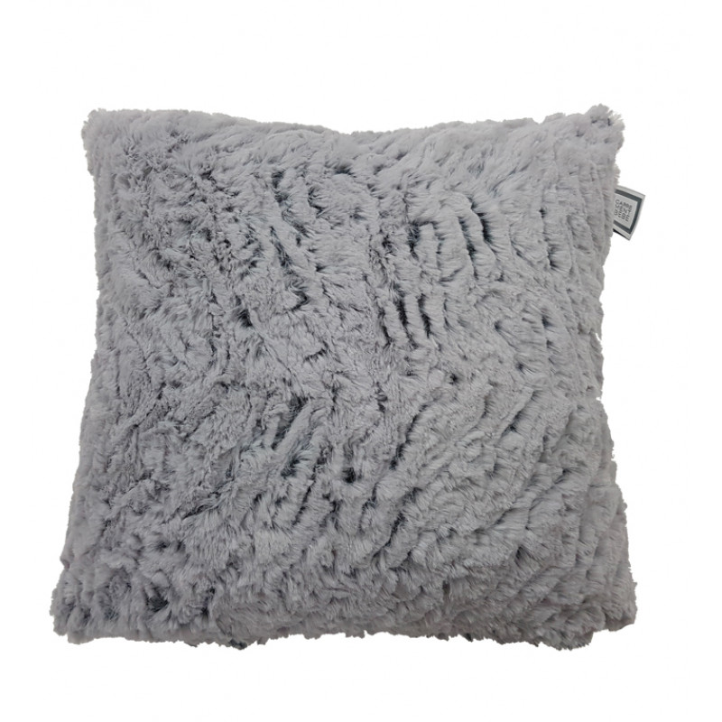 Carrément Bébé - Boreal Forest - Decorative Cushion - Square Fur