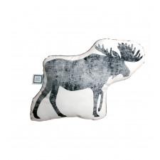 Carrément Bébé - Boreal Forest - Decorative Cushion - Moose