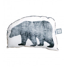 Carrément Bébé - Boreal Forest - Decorative Cushion - Bear