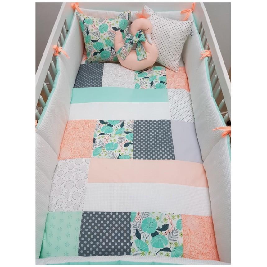 carr ment b b jade ensemble de literie 5 morceaux. Black Bedroom Furniture Sets. Home Design Ideas