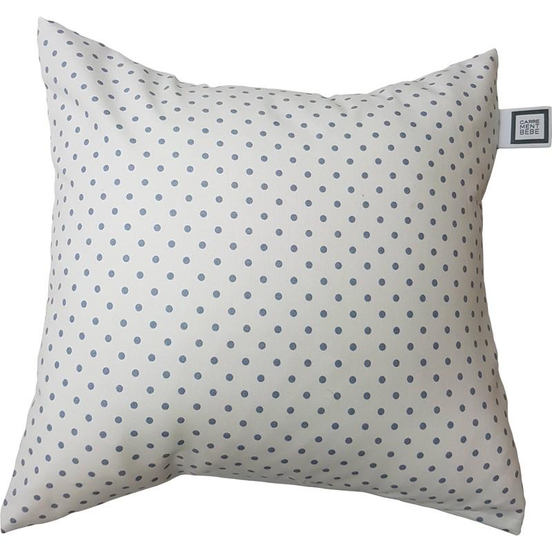 Carrément Bébé - Jade - Decorative Cushion - Square Spots