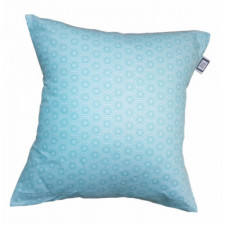 Carrément Bébé - Leo - Decorative Cushion - Square Turquoise