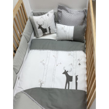 La Libellule - Deer - 5 Pieces Bedding Set