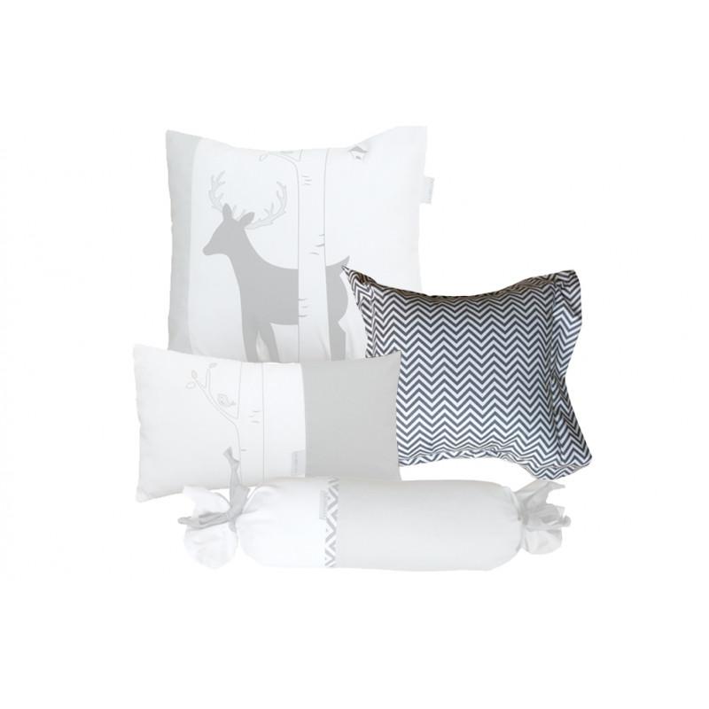 La Libellule - Deer - Decorative Cushion Square - Chevron