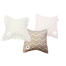 La Libellule - Emma - Decorative Cushion Square - Chevron