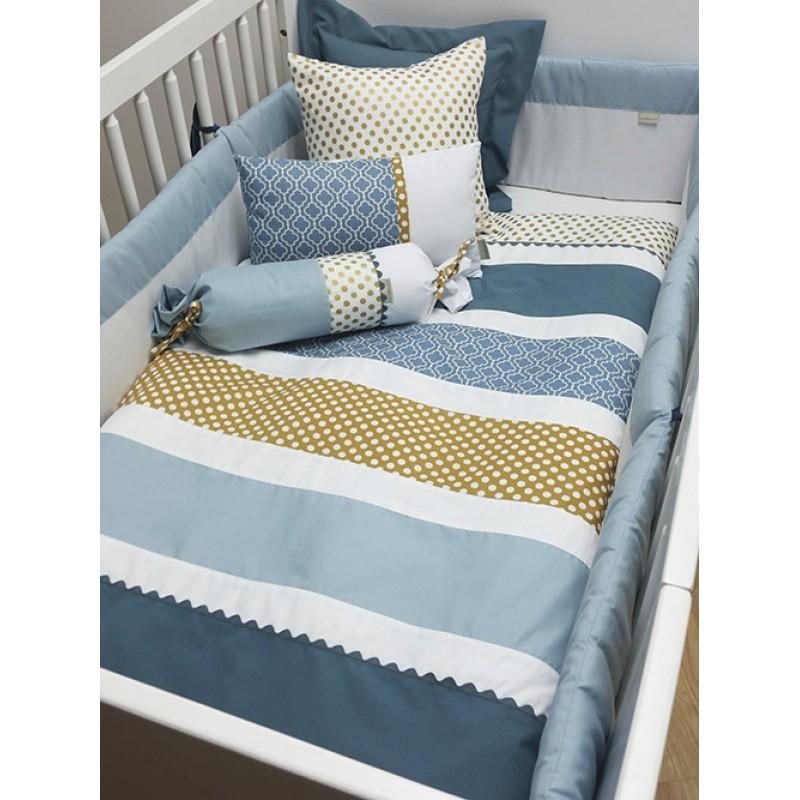 La Libellule - Ocean - 5 Pieces Bedding Set