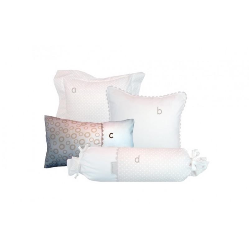 La Libellule - Vanille - Coussin décorative rectangle