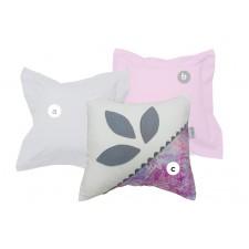 La Libellule - Victoria - Decorative Cushion Square - Petals