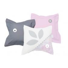 La Libellule - Victoria - Decorative Cushion Square - Grey