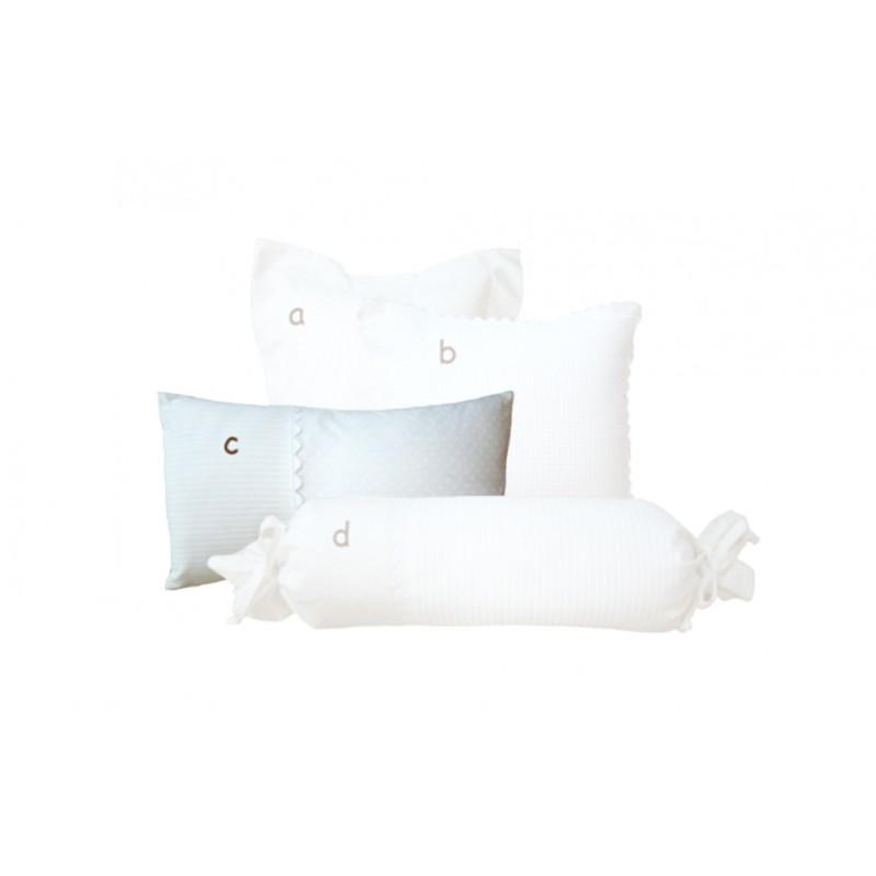 La Libellule - Blanche - Coussin décorative rectangle