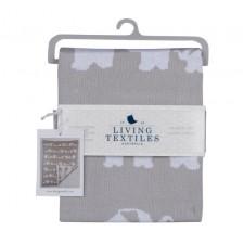 Living Textiles Company - Couverture en tricot - Parade d'éléphants