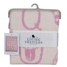Living Textiles Company - Couverture en tricot - Mon premier alphabet