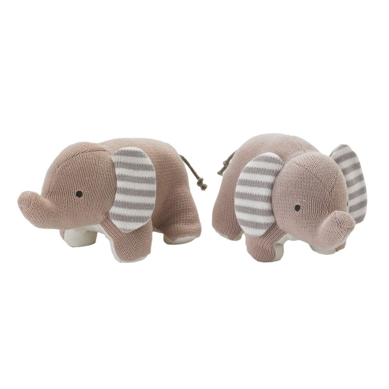 Lolli Living - Knitted Bookend Friends Elephant