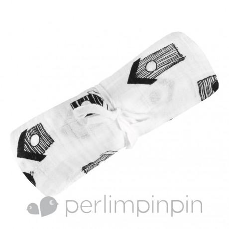 Perlimpinpin - Couverture mousseline coton