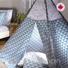 Perlimpinpin - Tipi - Triangle bleu