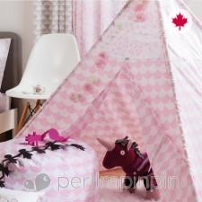 Perlimpinpin - Tipi - Feston rose