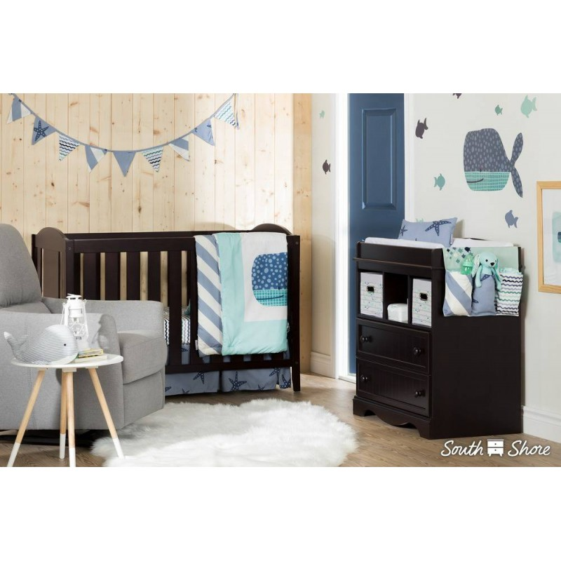 South Shore - Collection DreamIt - Ensemble de literie pour bébé Nautique