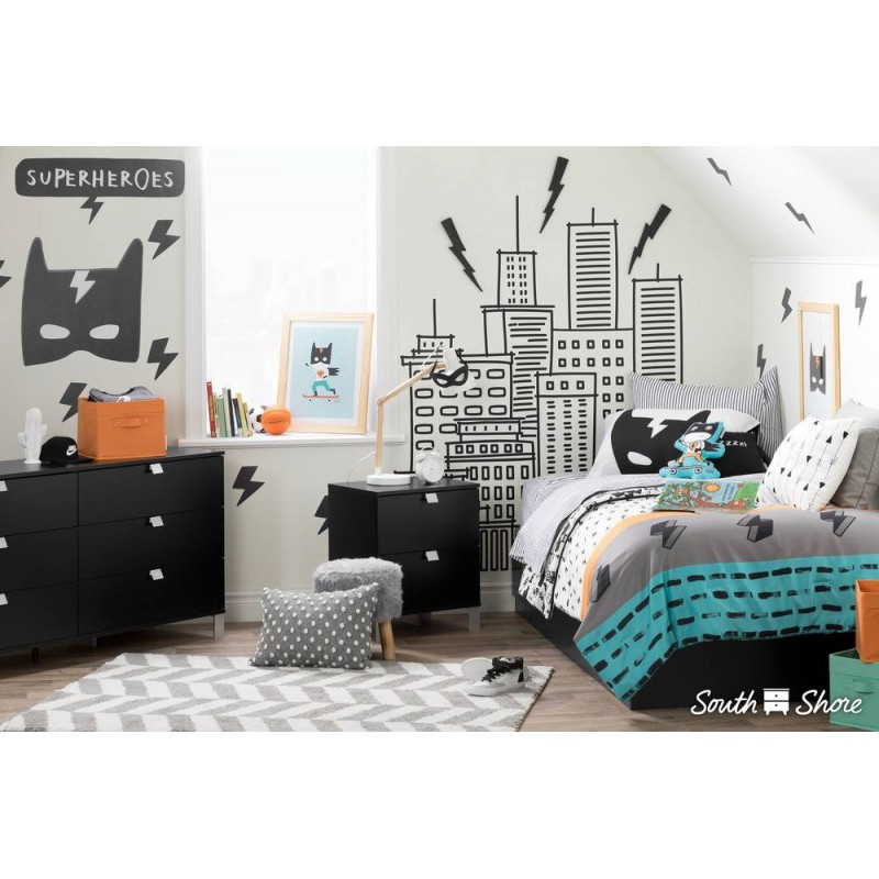 South Shore - DreamIt Collection - Bedding Set for Childrens Superhero
