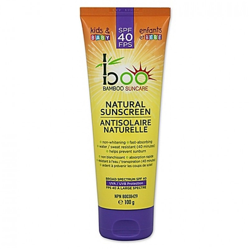 Baby Boo Bamboo - All Natural Sunscreen - 100gr