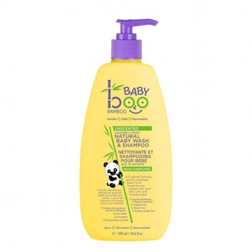 baby boo bamboo nettoyant et shampooing naturel pour b b 550ml. Black Bedroom Furniture Sets. Home Design Ideas