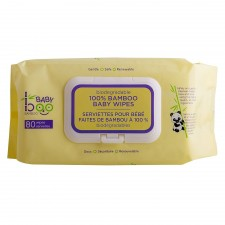 Baby Boo Bamboo - Lingettes bébé (80)