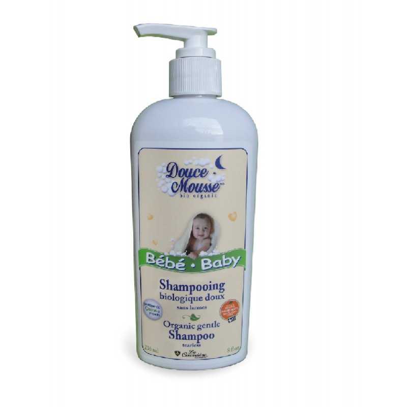 Douce Mousse - Shampooing Biologique Doux
