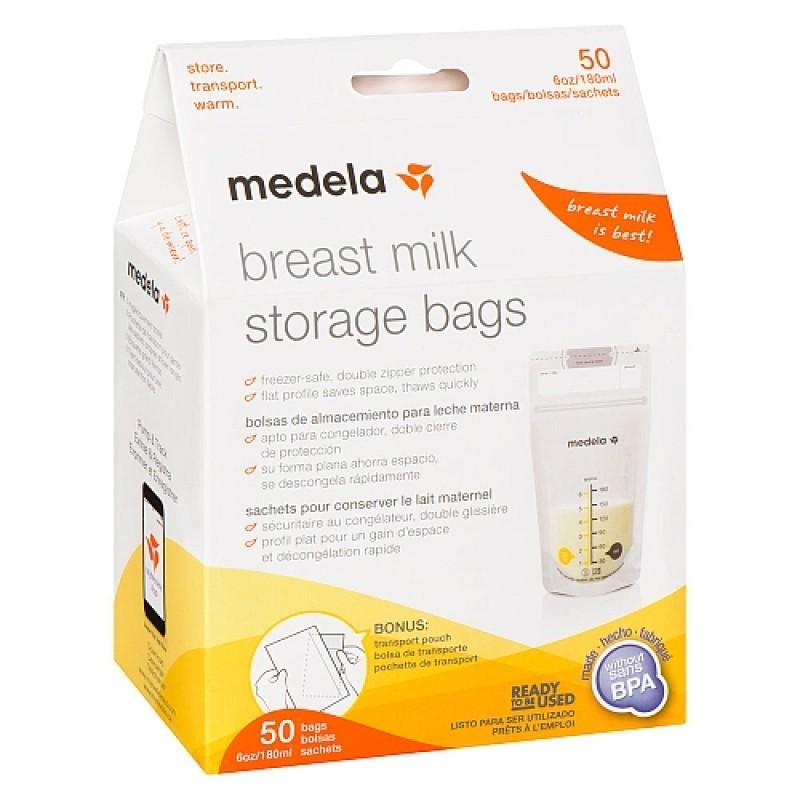 Medela - Pump & Save - Breastmilk bags 180ml 50pk
