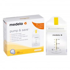Medela - Pump & Save - Breastmilk bags 180ml 25pk