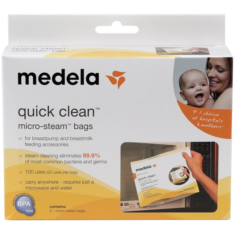 Medela - Quick-Clean Microwave Steam Bags