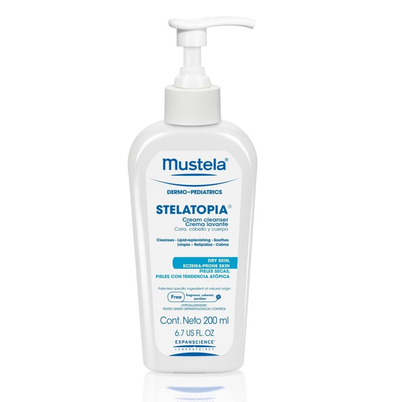 Mustela - Stelatopia Cleansing Cream 200 ml