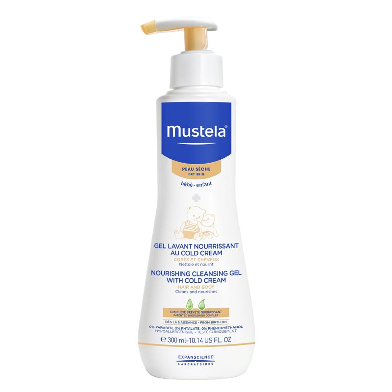 Mustela - Nourishing Cleansing Gel with Cold Cream
