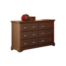College Woodwork - Kidz Decoeur - Carson Commode 6 Tiroirs