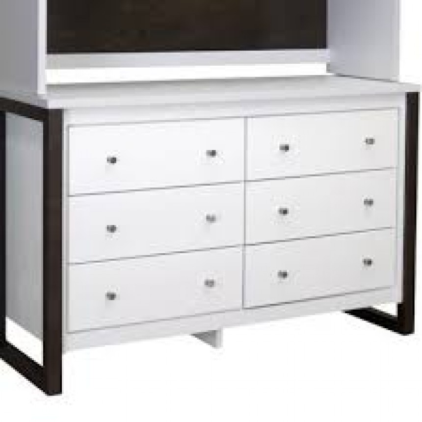 college woodwork kidz decoeur commode 6 tiroirs greenwich. Black Bedroom Furniture Sets. Home Design Ideas
