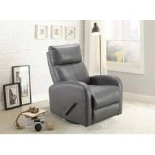Concord - Charleston Light Grey Swivel Glider Recliner