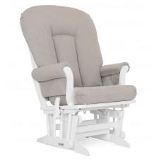 Dutailier - Chaise Berçante en Bois Serie 61 (Blanc)
