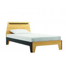 Dutailier - Caramel Twin Bed