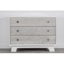 Dutailier - Pomelo 3 Drawer Chest - Rustic Grey