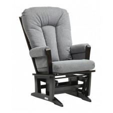 Dutailier - Chaise Berçante en bois Serie 64 (Espresso)