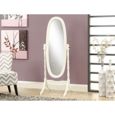 "Monarch - Miroir blanc antique 59 ""H"
